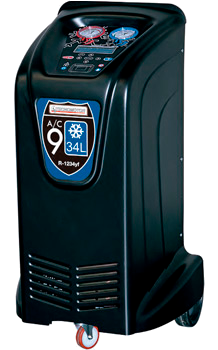 Máquina de recarga de aire acondicionado Tecnomotor AC934L